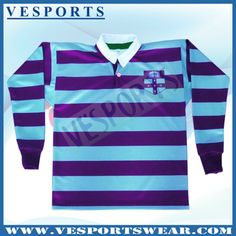 Custom Breathable Rugby Jersey