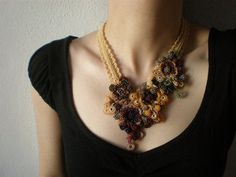 irregular expression- gioielli crochet