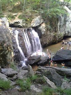 gunpowder falls waterfall located in gunpowder state park located