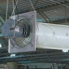 Greenhouse Fans & Cooling - Circulation Fans - Tube Fans & Accessories - Standard Pre-punched Poly Air Tubes