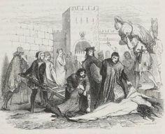 Boccaccio - Decamerón, edición ilustrada francesa de 1846