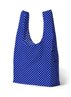 PrettyCoolBags dot blue einkaufsbeutel baggu