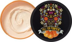 Fall into the spirit of autumn celebrations with The Body Shop Vanilla Pumpkin Body Butter, in special edition seasonal packaging inspired by the traditions of Central and South America¿s Dia de los Muertos. Body Shop Body Butter, The Body Shop, Purple Shampoo And Conditioner, Benzoic Acid, Bath And Body Works, Body Lotion, Beauty Care, Caramel, Vanilla