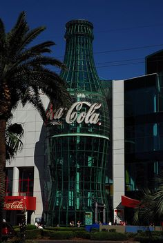 Las Vegas Coca Cola store on the Strip (Las Vegas Boulevard). There is also an M&M store next it