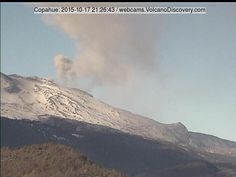 Copahue (Chile/Argentina): Intermittent ash emissions that resumed on 6 Oct, continue from the El Agrio crater and incandescence (from hot gasses) is visible at night. The ash/steam plume has been ...
