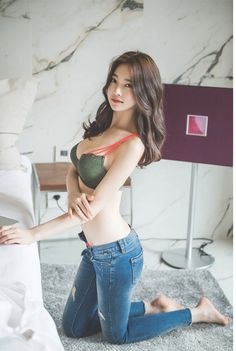 Jung Yun (정윤) beautiful Jung Yun in Jeans - Imgur