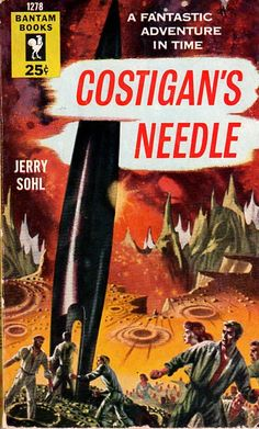 Costigan's Needle, Jerry Sohl (1954 edition), cover by Richard Powers
