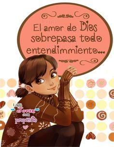 El amor de Dios sobrepasa todo entendimiento...