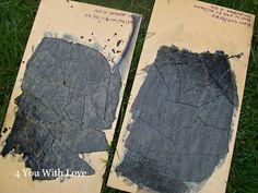 Rit dye paper bag floor 4 You With Love: Paper Bag Floor Dyed Black - Trial Brown Paper Flooring, Paper Bag Flooring, Diy Flooring, Living Room Flooring, Flooring Ideas, Diy Paper Bag, How To Make A Paper Bag, Paper Bags, Paper Bag Walls