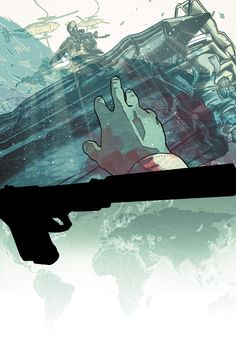 The Activity by Mitch Gerads - Best comic covers of the month august 2013 Best Comic Books, Comic Books Art, Comic Art, Mitch Gerads, Fun Comics, Comic Book Artists, Comic Book Covers, Marvel, Activities