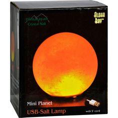 Himalayan Salt Mini Planet Salt Lamp - Usb - 3 In