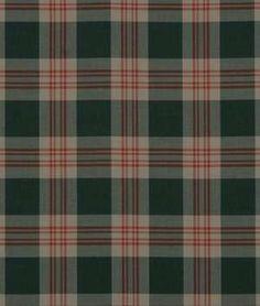 Beacon Hill Grant Plaid Charcoal Fabric - $123.1 | onlinefabricstore.net