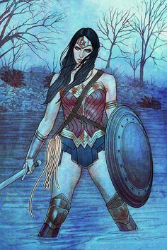 Wonder Woman #14 variant cover by Jenny Frison