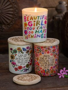 Buy Candles, Unique Candles, Beautiful Candles, Pillar Candles, Custom Candles, Velas Diy, Wise Girl, Thankful And Blessed, Boho Room