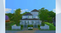 Check out this lot in The Sims 4 Gallery! Texas Gardening, Organic Gardening, Gardening Tips, Gardening Quotes, Sims 4 Houses, Big Houses, Building A House, Home And Family, Patio