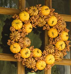 More fall wreaths; more awesomeness.