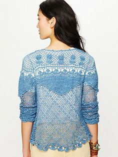 Gorgeous crochet cardigan  http://www.freepeople.com/whats-new/new-romantics-crochet-cardigan/