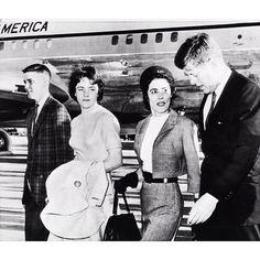 Instagram media by thelilykoppel - Please Mr. Kennedy w Annie Glenn & kids #AstronautWivesClub