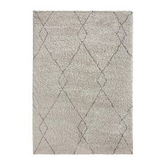 Dunelm Geometric Diamond Design Anti-Slip Accra Grey and White Rug Accra, Rug Shapes, Berber Rug, Rugs Online, Modern Rugs, Rugs In Living Room, Contemporary Design, Latex, Texture