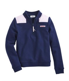 School days are here! Oxford stripes always look smart, but they are never brighter than on this soft, comfortable girls Shep Shirt.