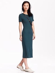 Women's Jersey Midi Dress Product Image