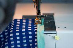 mamasha: Zelf elastische paspel maken