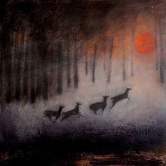 The Running of the Deer ~ Catherine Hyde.