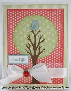 tree is from stretch your imagination (bird from create a critter, green circle from George)