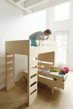 bunk beds from rafa-kids.com. beautiful stuff.