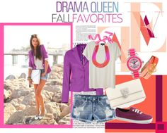 Summer 2012 *purple, created by misscici1991 on Polyvore