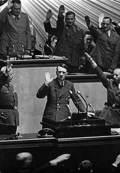 A fatal day for Germany: Ovation for Hitler after declaring war on America, Dec 11th 1941