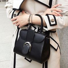 WEBSTA @ delvaux - Le Brillant Mini in Noir is understated, but never underestimated. #SS16 #timeless#repost from @strasburgowomens