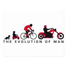 evolution OF one motorcycle more biker Postcard   biker lifestyle, biker guy, harley davidson quote #ridehard #shoutout #bikerschick, 4th of july party Bike Humor, Motorcycle Humor, Biker Shop, Bicycle Quotes, Harley Davidson Quotes, Biker Love, Biker Quotes, 4th Of July Party, Gifts For Dad