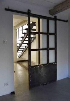 www.industrialstyle.net - Porte industriali per Loft