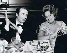 Opera stars Renata Tebaldi and Franco Corelli c.1964
