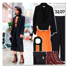 """""""Street Style NY"""" by makeupgoddess ❤ liked on Polyvore featuring TIBI, MANGO, Maison Margiela, Kershaw, Alexander McQueen and Lipsy"""
