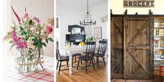 25 Ways to Add Farmhouse Style to Any Home - Rustic Country Home Decorating Ideas