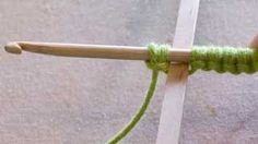 How to put the stitches on the hook for Crotat (Crochet Tatting)