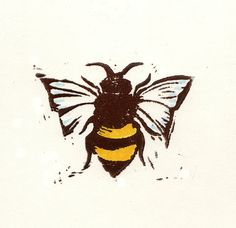 A beautiful Bee Print for the busy one in your life!
