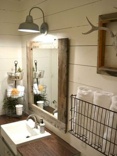 Living Room Dresser Decor 34 Perfect Farmhouse Bathroom Vanity Ideas To Maximize Space.Living Room Dresser Decor 34 Perfect Farmhouse Bathroom Vanity Ideas To Maximize Space Bathroom Vanity Decor, Bathroom Styling, Bathroom Lighting, Bathroom Ideas, Bathroom Remodeling, Bathroom Inspiration, Bathroom Layout, Basement Bathroom, Bathroom Plumbing