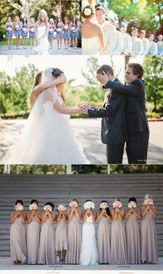 10 ideias de fotos diferentes com os padrinhos e madrinhas | Mariée: Inspiração para Noivas e Casamentos