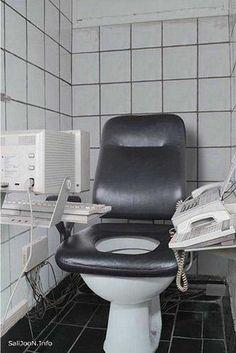 Será assim o banheiro de um NERD??