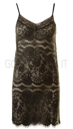 DAY - Slip Dress - Sort sexet blondekjole