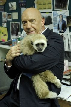 Cragen with a monkey. Why is life amazing.
