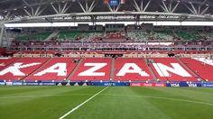 Прогулка по футбольному полю прямо перед матчем Португалия - Мексика!!!