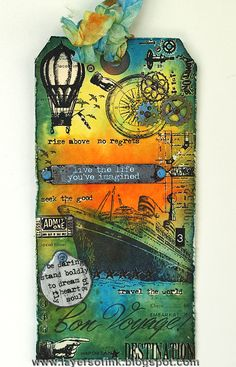 Layers of ink: 12 Tags of 2013 May