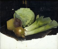 Born in Stirling in Diarmuid Kelley grew up in the north of England. He studied Fine Art at Newcastle University, graduating in He was the youngest artist ever to win the prestigious Nat West Art Prize at the age of in the same year, he graduated from. Still Life 2, Still Life Fruit, Painting Still Life, Paintings I Love, Realistic Paintings, Painting Art, Vegetable Painting, Vegetable Drawing, Bayeux Tapestry