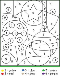 14 Color by Number Christmas Sheets Color by Number Christmas Sheets. 14 Color by Number Christmas Sheets. Christmas Color by Number Printables Preschool Christmas, Christmas Activities, Christmas Crafts For Kids, Kids Christmas, Christmas Ornaments, Christmas Color By Number, Christmas Colors, Christmas Worksheets, Free Christmas Printables