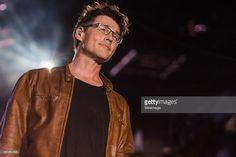 Morten Harket from A-HA performs at 2015 Rock in Rio on September 27, 2015 in Rio de Janeiro, Brazil.