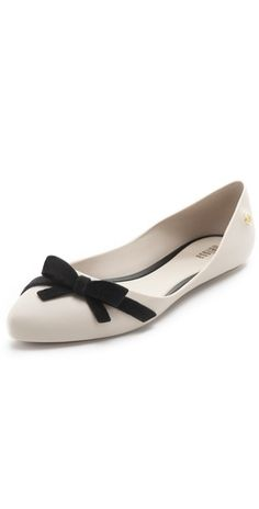 These PVC Melissa 'Trippy' ballet flats is sleek with a sultry touch $70, get it here: http://rstyle.me/~uHLx